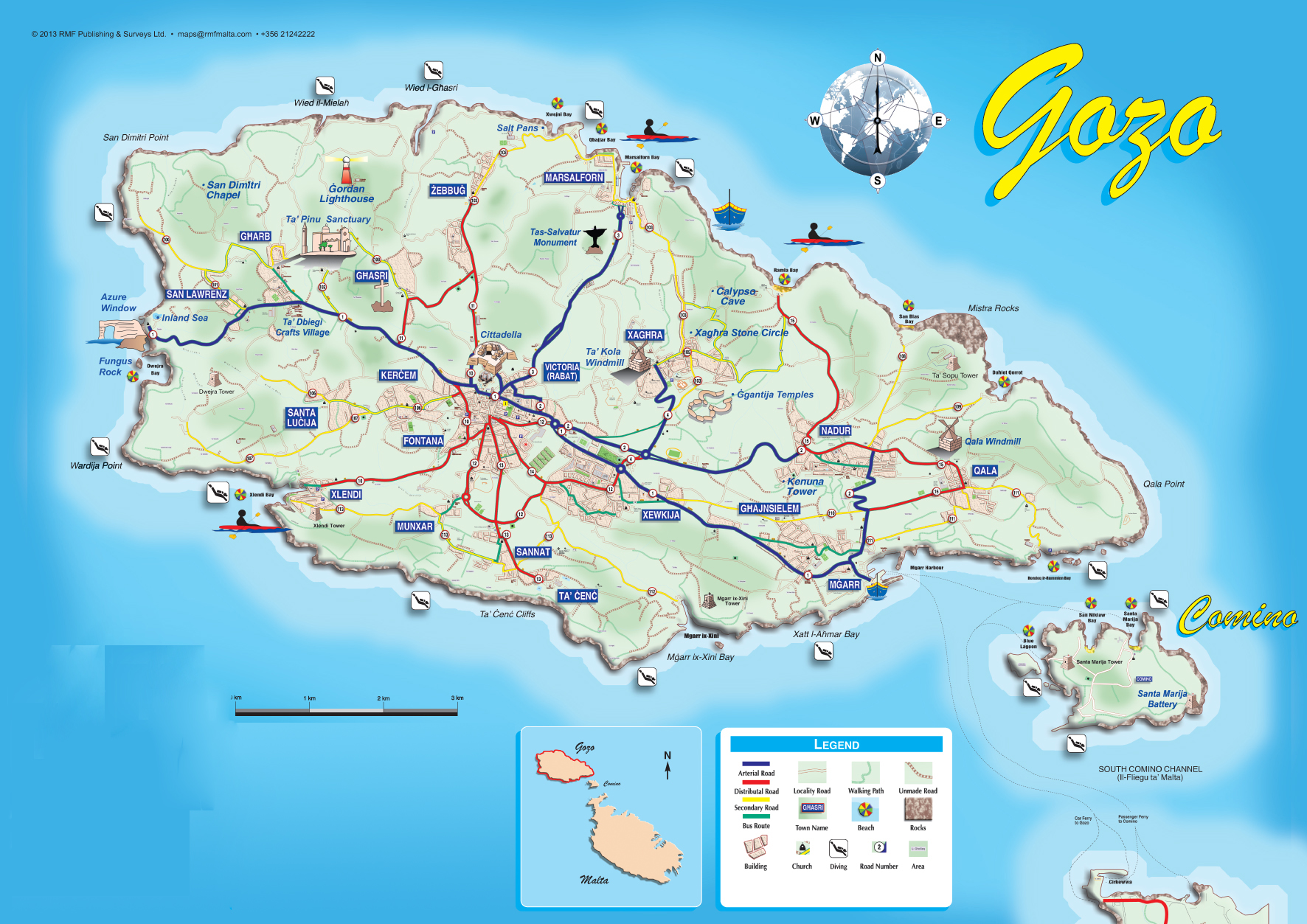 Boat trip mgarr tourist services renting of quads for Gozo dive centres